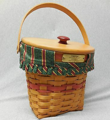 1998 Longaberger Christmas Collection Glad Tidings Basket 756