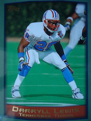 NFL 112 Darryll Lewis Tennessee Titans Topps 1999