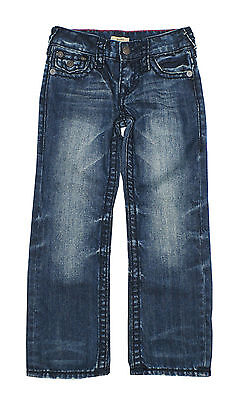 True Religion Blue Denim Geno Relaxed Slim Fit Jeans Little Boys Kids 5