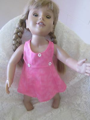 Pink Dress And Matching Pants For Australia Girl Doll