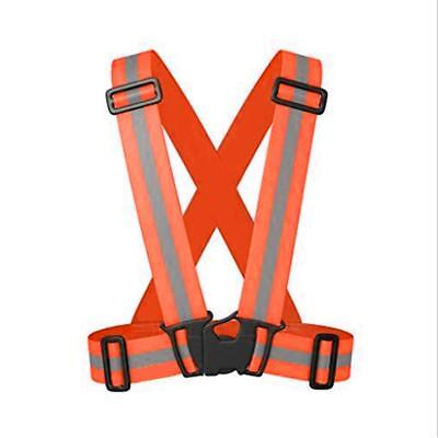 Children's High Visibility Safety Waistcoat Vest with Reflective Strips