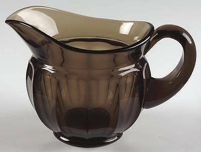 Imperial Glass Ohio OLD WILLIAMSBURG BROWN Pitcher 237479