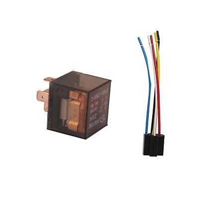 Car Truck Auto 12V 60A 60 AMP SPDT Relay Relays 5 Pin 5P & 5 Wire Socket