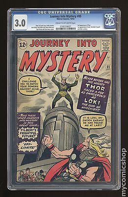 Thor (1962-1996 1st Series Journey Into Mystery) #85 CGC 3.0 (0182259021)