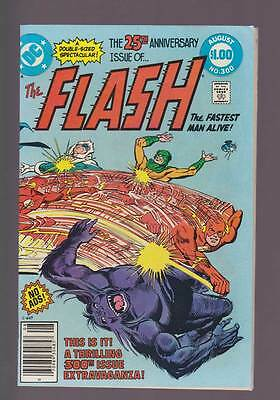 Flash # 300  25th Anniversary Issue !  grade 7.5 scarce book !