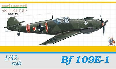 EDUARD 3401 WWII German Bf 109E-1 Fighter in 1:32
