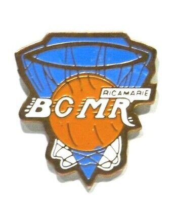 Pins Basket Ball Bcmr 42 Ricamarie