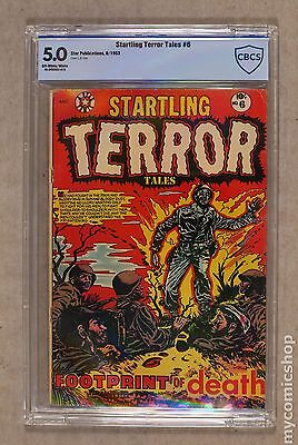 Startling Terror Tales (1953-54 2nd Series) #6 CBCS 5.0