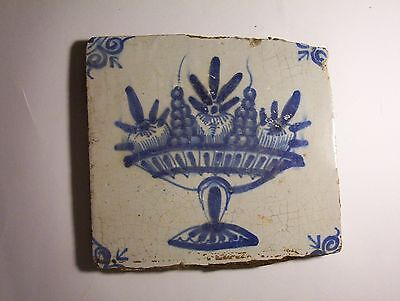 Delft Tile c. 18th / 19th  century   (e)