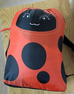 sleeping bag kids ladybird new