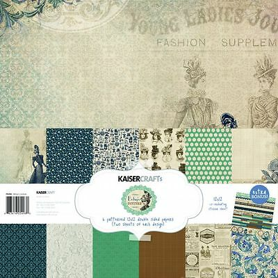 Kaisercraft Betsy's Couture (1) 12X12 Scrapbooking Collection Pack Kit