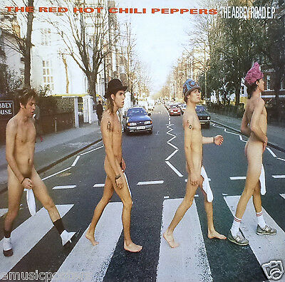 "RED HOT CHILI PEPPERS ""ABBEY ROAD E.P."" U.S. PROMO POSTER - Funk Rock Music"