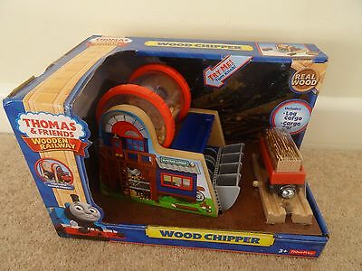 Thomas The Tank Engine Wood Chipper Wooden Railway  Fisher Price Train Track