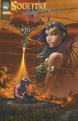 Aspen Comics Soulfire Preview Signed by Michael Turner - NM