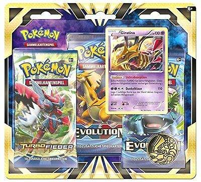 Pokemon XY Giratina - 3 Pack Blister - DE