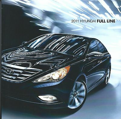 Auto Brochure - Hyundai - Product Line Overview - 2011  (A1148)