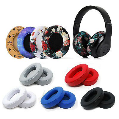 2x Replacement Ear Pad Cushion for Beats by dr dre Studio 2.0 Headphone Wireless