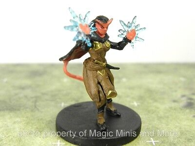 Monster Menagerie II ~ TIEFLING WARLOCK #35 Icons of the Realms 2 D&D rare mini