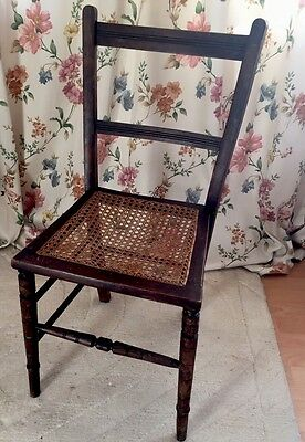 Small Vintage Berger Bedroom Chair Ideal Childs Bedroom