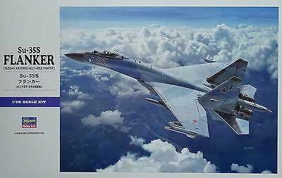 """HASEGAWA® 01574 Su-35S Flanker """"Russian Air Force Multi-Role Fighter"""" in 1:72"""