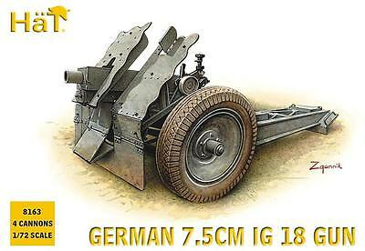 HÄT® 8163 German 7,5cm IG 18 Gun in 1:72