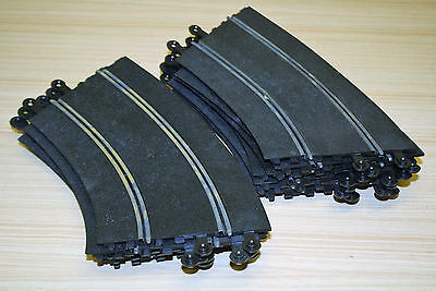 Vintage Scalextric Banked Curved Track C/187 x12
