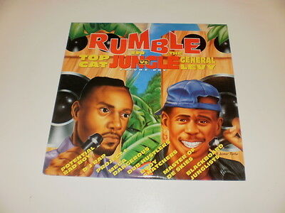 TOP CAT vs GENERAL LEVY - RUMBLE IN THE JUNGLE VOLUME ONE - 2 LP UK 1994 M-/VG++