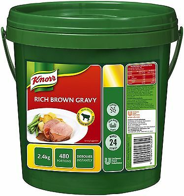 *Bulk Buy*   Knorr Rich Brown Gravy 2.4kg *Free postage on ALL items*