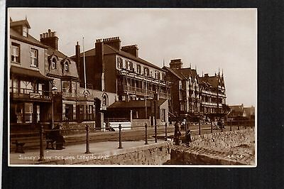 Jersey - Havre Des Pas looking East - real photographic postcard