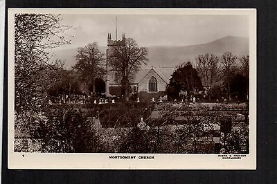 Montgomery Church - real photographic postcard