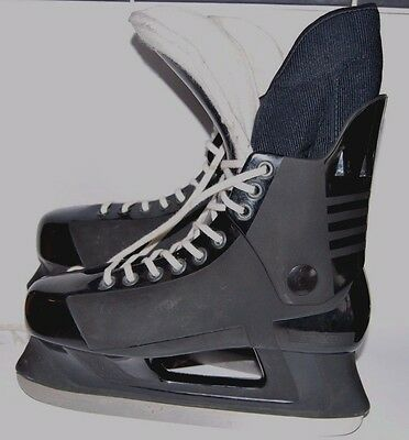 ⭐️ Mens Salvo Hockey Ice Skates  & Blade Covers Size Uk7 Eu41 ⭐️