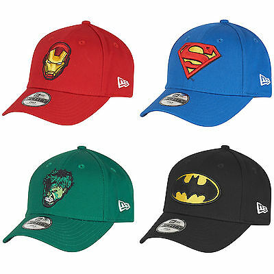 New Era My First Superhero Curve Peak 9forty Toddler & Child Kids Cap Hat 940
