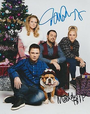 *signed*  The Carter Family - 10X8 Photo  (Eastenders)  Autographed
