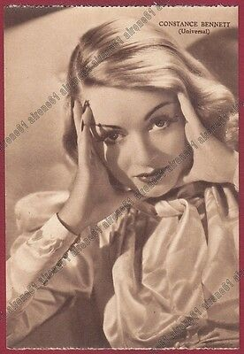 CONSTANCE BENNETT 05 ATTRICE ACTRESS ACTRICE CINEMA MOVIE - USA Cartolina 1939