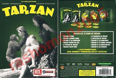 DVD THE COMPLETE 12 MOVIES JOHNNY WEISSMULLER TARZAN COLLECTION Region 2 PAL NEW