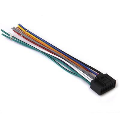 clarion wire harness stereo radio wiring 16 pin plug • 4 60 16pin car stereo radio replacement wire harness cable plug for kenwood