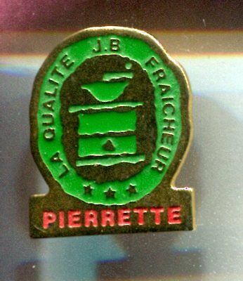 Rare Pins Pin's .. Aliment Food Cafe Coffee Moulin Ancien J.b Pierrette ~Cr