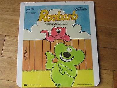 ROOBARB AND CUSTARD  CED Video Disc PAL/UK NEW AND STILL SEALED!!