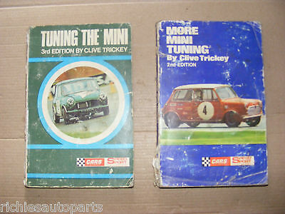 2 Vintage Tuning The Mini Books By Clive Trickey