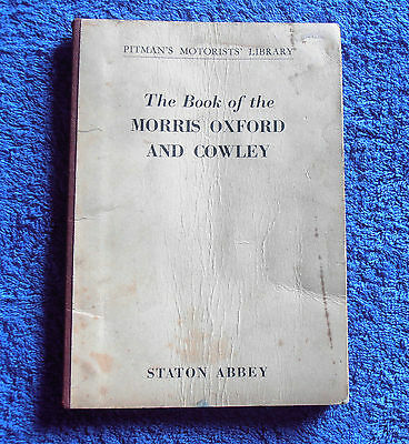 Pitmans: The Book of the Morris Oxford & Cowley (1959)
