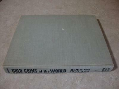 Gold Coins of the World 1st Edition 1958 Robert Friedberg