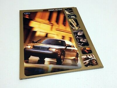2000 Ford Crown Victoria Information Sheet Preview Brochure