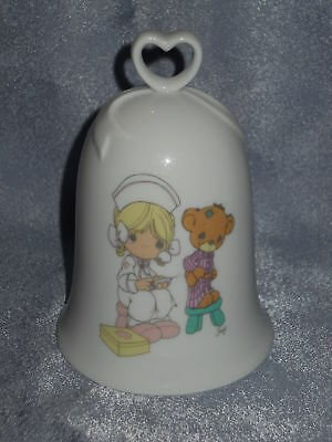 Precious Moments Porcelain Bell -LOVE BEARETH ALL THINGS