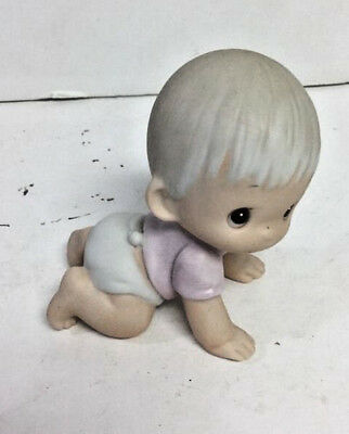 Precious Moments Crawling Baby Boy E2852 Figure Without Box