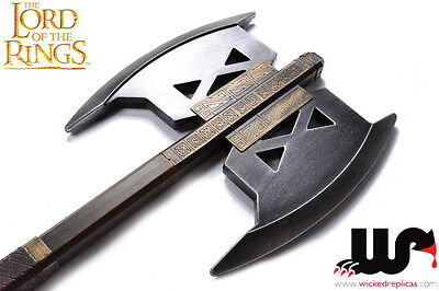 Lord of the Rings LARP Battle Axe of Gimli