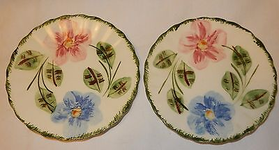Blue Ridge Southern Potteries Norma Lot of 2 Bread Plates 6""