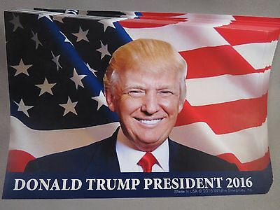 Wholesale Lot Of 10 Trump Usa Flag Sticker President 2016 Decal Bumper Photo Us