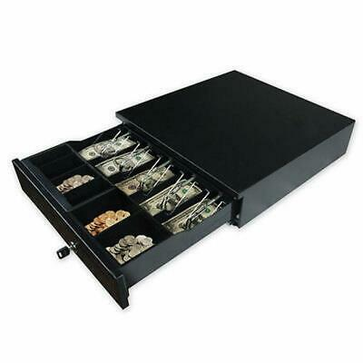 Cash Register Drawer Box 5 Bill 5 Coin Tray Compatible Works POS Printers RJ11