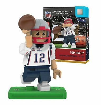 Nfl New England Patriots Super Bowl Li Champion Tom Brady Oyo Mini Figure - Rare