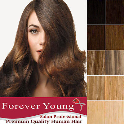 Hair Extensions Weft Real Thick Human Hair Extensions Remy Weave Grade AAA+ UK
